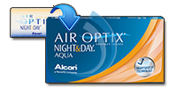 Afbeelding van AIR OPTIX NIGHT and DAY AQUA
