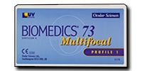 Foto van Biomedics 73 Multifocal